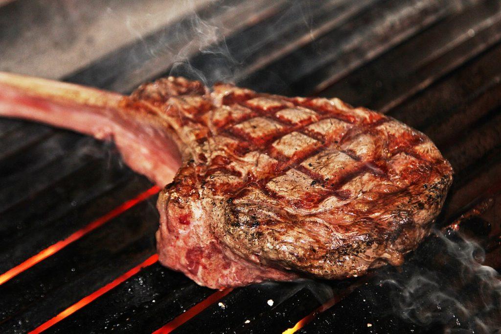 steak, tomahawk steak, grilling